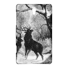Stag Deer Forest Winter Christmas Samsung Galaxy Tab S (8.4 ) Hardshell Case