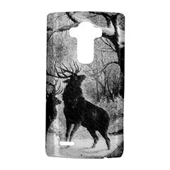 Stag Deer Forest Winter Christmas Lg G4 Hardshell Case