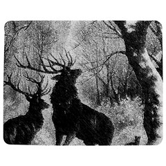 Stag Deer Forest Winter Christmas Jigsaw Puzzle Photo Stand (rectangular)
