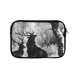 Stag Deer Forest Winter Christmas Apple Macbook Pro 15  Zipper Case