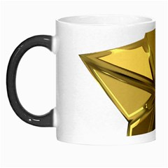 Stars Gold Color Transparency Morph Mugs
