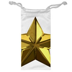 Stars Gold Color Transparency Jewelry Bag