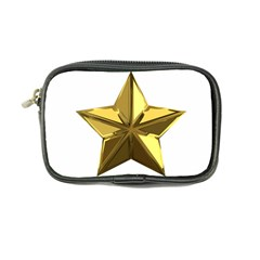 Stars Gold Color Transparency Coin Purse