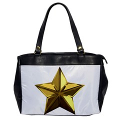 Stars Gold Color Transparency Office Handbags