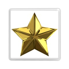 Stars Gold Color Transparency Memory Card Reader (square)