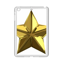 Stars Gold Color Transparency Ipad Mini 2 Enamel Coated Cases