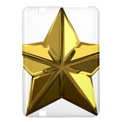 Stars Gold Color Transparency Kindle Fire HD 8.9