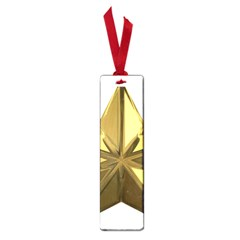 Stars Gold Color Transparency Small Book Marks