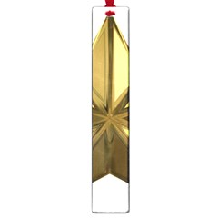 Stars Gold Color Transparency Large Book Marks