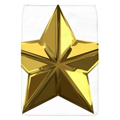 Stars Gold Color Transparency Flap Covers (s)