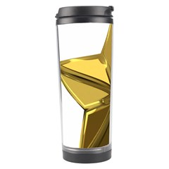 Stars Gold Color Transparency Travel Tumbler