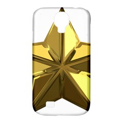 Stars Gold Color Transparency Samsung Galaxy S4 Classic Hardshell Case (pc+silicone)