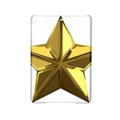 Stars Gold Color Transparency Ipad Mini 2 Hardshell Cases
