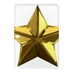 Stars Gold Color Transparency Samsung Galaxy Tab Pro 12 2 Hardshell Case