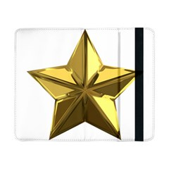 Stars Gold Color Transparency Samsung Galaxy Tab Pro 8 4  Flip Case
