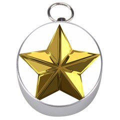 Stars Gold Color Transparency Silver Compasses