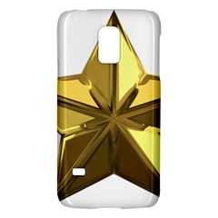 Stars Gold Color Transparency Galaxy S5 Mini