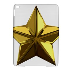 Stars Gold Color Transparency Ipad Air 2 Hardshell Cases