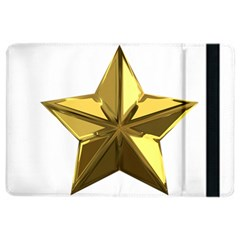 Stars Gold Color Transparency Ipad Air 2 Flip