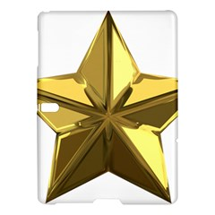 Stars Gold Color Transparency Samsung Galaxy Tab S (10 5 ) Hardshell Case