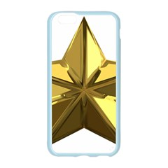 Stars Gold Color Transparency Apple Seamless iPhone 6/6S Case (Color)