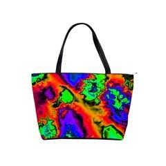 Hot Fractal Statement Shoulder Handbags