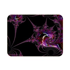 Fantasy Fractal 124 A Double Sided Flano Blanket (Mini)