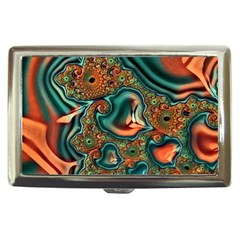 Painted Fractal Cigarette Money Cases