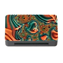 Painted Fractal Memory Card Reader with CF