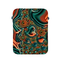Painted Fractal Apple iPad 2/3/4 Protective Soft Cases