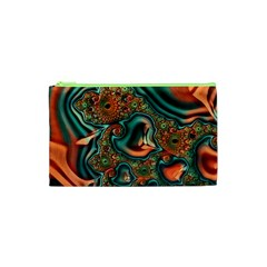 Painted Fractal Cosmetic Bag (XS)