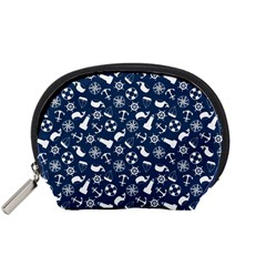 Nautical Navy Accessory Pouches (Small)