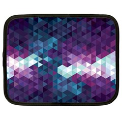 Geo Thunderstorm Netbook Case (Large)