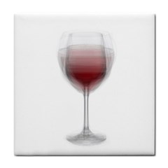 Wine Glass Steve Socha Face Towel