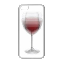 Wine Glass Steve Socha Apple iPhone 5C Seamless Case (White)