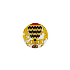 Coat of Arms of Chad 1  Mini Buttons