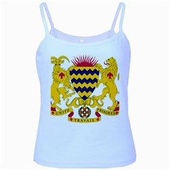 Coat of Arms of Chad Baby Blue Spaghetti Tank