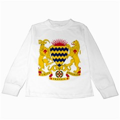 Coat of Arms of Chad Kids Long Sleeve T-Shirts