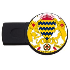 Coat of Arms of Chad USB Flash Drive Round (4 GB)