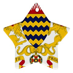 Coat of Arms of Chad Star Ornament (Two Sides)