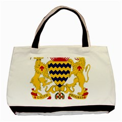 Coat of Arms of Chad Basic Tote Bag (Two Sides)