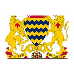 Coat of Arms of Chad Plate Mats