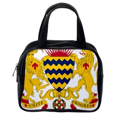 Coat of Arms of Chad Classic Handbags (One Side)
