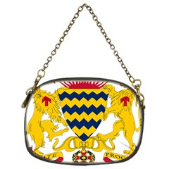 Coat of Arms of Chad Chain Purses (Two Sides)