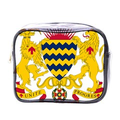 Coat of Arms of Chad Mini Toiletries Bags