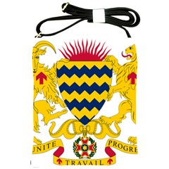 Coat of Arms of Chad Shoulder Sling Bags
