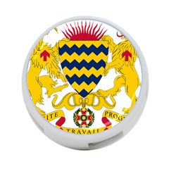 Coat of Arms of Chad 4-Port USB Hub (Two Sides)