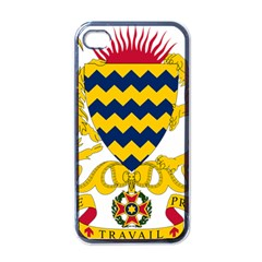 Coat of Arms of Chad Apple iPhone 4 Case (Black)
