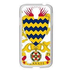Coat of Arms of Chad Samsung GALAXY S4 I9500/ I9505 Case (White)
