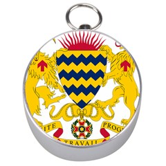 Coat of Arms of Chad Silver Compasses